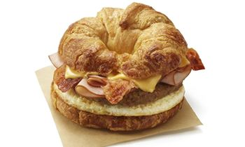 No Need to Choose Between Bacon, Ham or Sausage…Dunkin's New All You Can Meat Breakfast Sandwich Has Them All