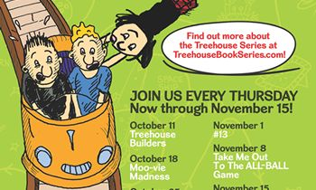 Ovation Brands and Furr's Fresh Buffet Feature a Family Night That Is Better Than Fiction with the Treehouse Series, Starting October 11