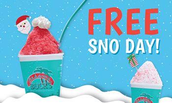 "Bahama Buck's Celebrates Season of Giving with ""Free Sno Day"""