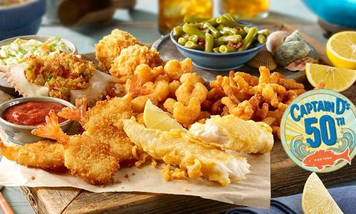 Captain D's starts 2019 Celebrating their Golden and Crispy Anniversary – 50 Years of Seafood Greatness