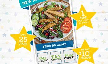 Taziki's Mediterranean Café Launches New Innovative App