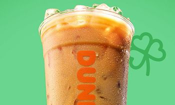 St. Patrick's Day Wish Granted: Dunkin' Brings Back Irish Creme Flavored Coffees and Espresso Drinks