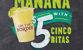 Drinko Your Cinco at On The Border – America's Official Cinco de Mayo Headquarters