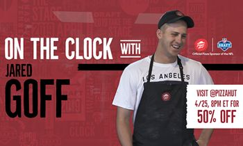 The Pick Is In: Pizza Hut Puts Fans On The Clock During 2019 NFL Draft To Celebrate Its Second Year As The Official Pizza Sponsor Of The NFL