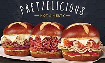 Togo's Launches New Hot and Melty Pretzel Sandwiches
