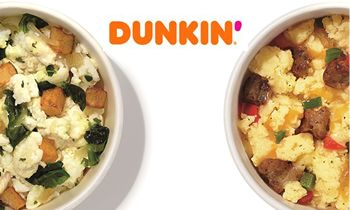 Dunkin' Further Powers Up its Menu with Two New Dunkin' Bowls – Sausage Scramble Bowl and Egg White Bowl