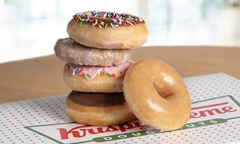 KRISPY KREME Issues Sweet National Doughnut Day Challenge: Help Them Give Away 1 Million FREE Doughnuts and Unlock a 2nd FREE Doughnut