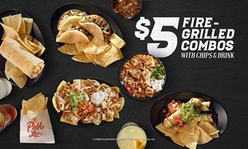 El Pollo Loco Fires Up $5 Combos Menu with New Offerings