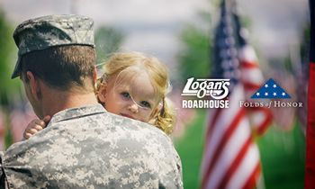Logan's Roadhouse Announces Major Partnership with Folds of Honor