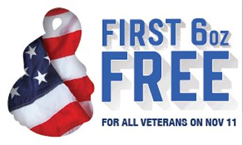 Menchie's Frozen Yogurt Honors Servicemen and Women with Free Frozen Yogurt on Veterans Day