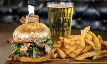 Slater's 50/50 Debuts New Holiday Menu with Twists on Beloved Classics