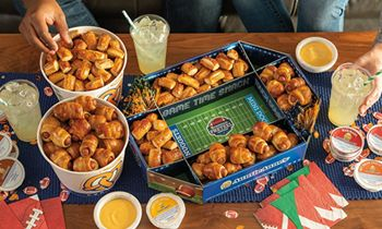 Auntie Anne's Releases Game Day Pretzel Pack with Limited-Edition Snack Stadium for the Big Game