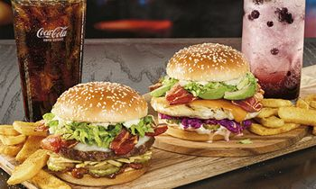 Bacon Curry and Zen Chicken Burgers Bring Asian-Inspired Taste. Full Flavors to Red Robin Gourmet Burgers and Brews