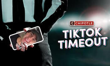Chipotle Gives Reins To Biggest TikTok Creators To Disrupt Traditional Big Game Advertising At Every Timeout