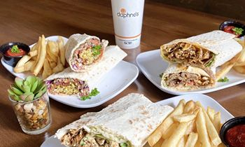 Daphne's Adds New Lavash Wraps to Menu for Limited-Time
