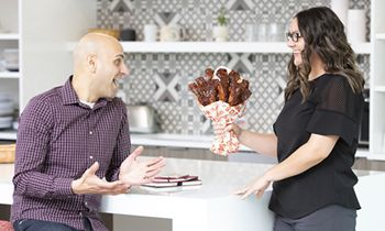 """Boston Market Embraces the Sweet and Saucy Sides of Love this Valentine's Day with Limited Edition Bouquets of """"BAE-by"""" Back Ribs"""