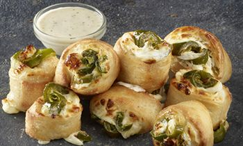 Kick Up Your Pizza Order with Papa John's Freshly Baked Jalapeño Popper Rolls