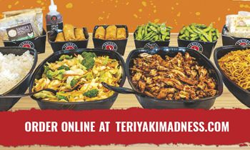 Teriyaki Madness Makes Work Lunch Bearable With Improved Catering Program