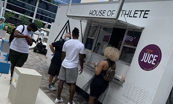 House of Athlete Founder and NFL Veteran All Pro Receiver Brandon Marshall and Raw Juce Team up to Establish the Nourish and Recover the Front Lines South Florida Fund