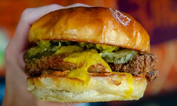 Curry Up Now Officially Debuts New Tandoori Fried Chicken Sandwich on July 6, National Fried Chicken Day