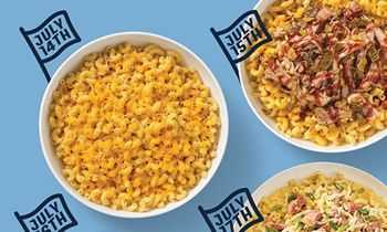 Celebrate National Mac & Cheese Day All Week Long With Free Mac & Cheese And Free Delivery From Noodles & Company