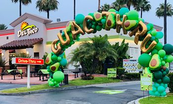 "Del Taco Launches ""Guac-Thrus"" for National Drive-Thru Day With Free Fresh Guacamole for Everyone & on Almost Anything"