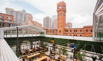 Restaurant Retractable Roofs Enhance Outdoor Patios