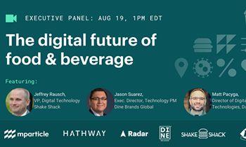 Webinar: The Digital Future of Food & Beverage – Register Now