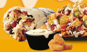 Taco John's Debuts New Bigger. Bolder. Better. Queso Blanco