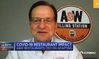 A&W Restaurants' CEO Discusses COVID-19 Success on CNBC