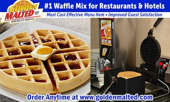 Add America's Favorite Waffles to Your Menu with Golden Malted – The #1 Waffles for Restaurants