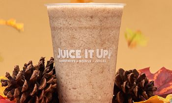 """Fall"" Head Over Heels for Juice It Up!'s New Horchata Smoothie"