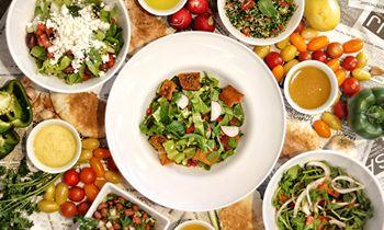 SAJJ Mediterranean Launches Five Classic Mediterranean Salads