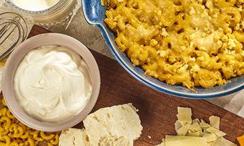 Taziki's Mediterranean Café Promotes New Item-3 Cheese Mac & Cheese This Fall