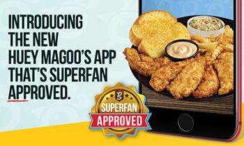Huey Magoo's Chicken Tenders Introduce New Free Mobile App