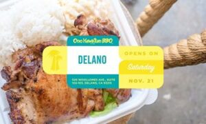 Ono Hawaiian BBQ Celebrates Newest Opening in Delano, CA