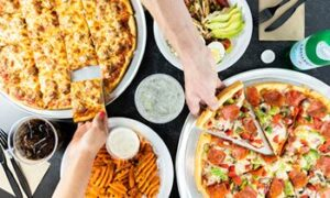 Opening of Slice Factory Sets Off Jumbo-Sized Pizza Craze In Burbank