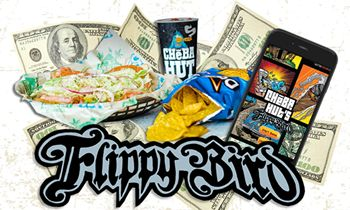 Cheba Hut Flips the Bird: Fast Growing Marijuana-Themed Sandwich Brand Launches Flippy Bird High Score Mobile Game Contest