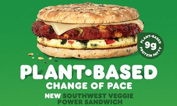 A Plant-Based Change of Pace: Dunkin' Starts 2021 with the Southwest Veggie Power Breakfast Sandwich