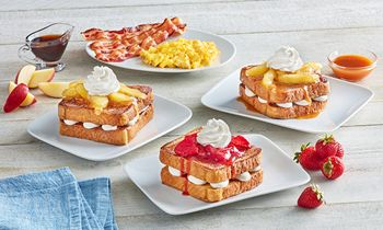 Huddle House Serves Up New Menu Offerings with Stuffed French Toast and Blueberry Muffin Bites