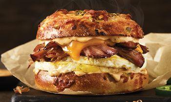 Brisket Is for Breakfast, Now at Einstein Bros. Bagels