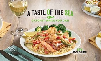 """O'Charley's Introduces New """"A Taste of the Sea"""" Seasonal Specials"""