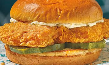 Popeyes Makes Big Waves in the Sandwich Game With Its First-Ever Cajun Flounder Sandwich Coming to Menus Nationwide