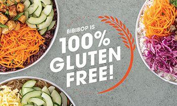 BIBIBOP Certified as Gluten-Free Safe Space