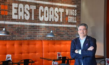 East Coast Wings + Grill's Sam Ballas Named One of the Most Influential CEOs in the Country