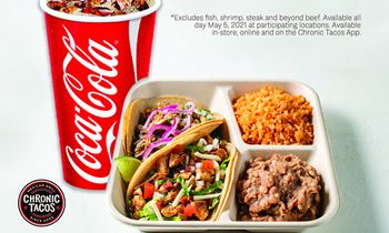 Chronic Tacos Offers $5 Taco Plates to Celebrate Cinco de Mayo