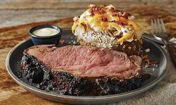 Give the Original Grill Master the Weekend Off with Logan's Father's Day Menu