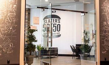 Popular Valencia Eatery, Slater's 50/50 Celebrates First Anniversary