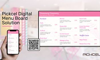 Digital Signage Brand Pickcel Plans to Help Restaurants Improve Customer Experience One Menu Board At a Time