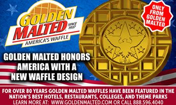 Golden Malted Honors America with a New Waffle Design – Golden Malted is America's #1 Waffle